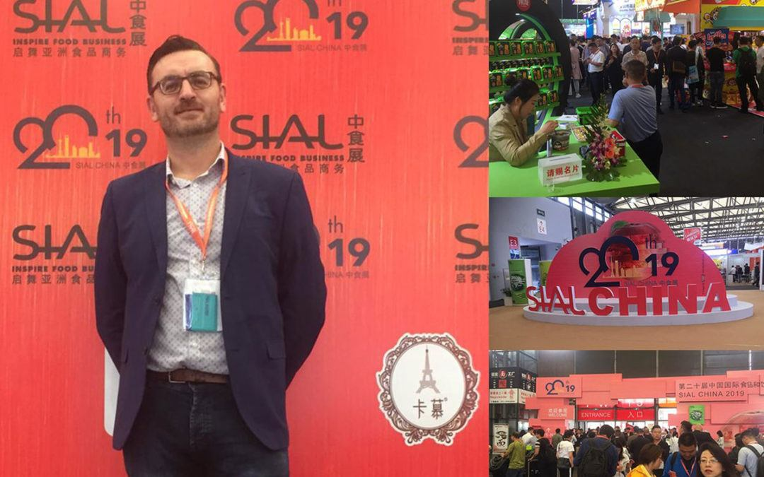 At Sial 2019 in Shanghai