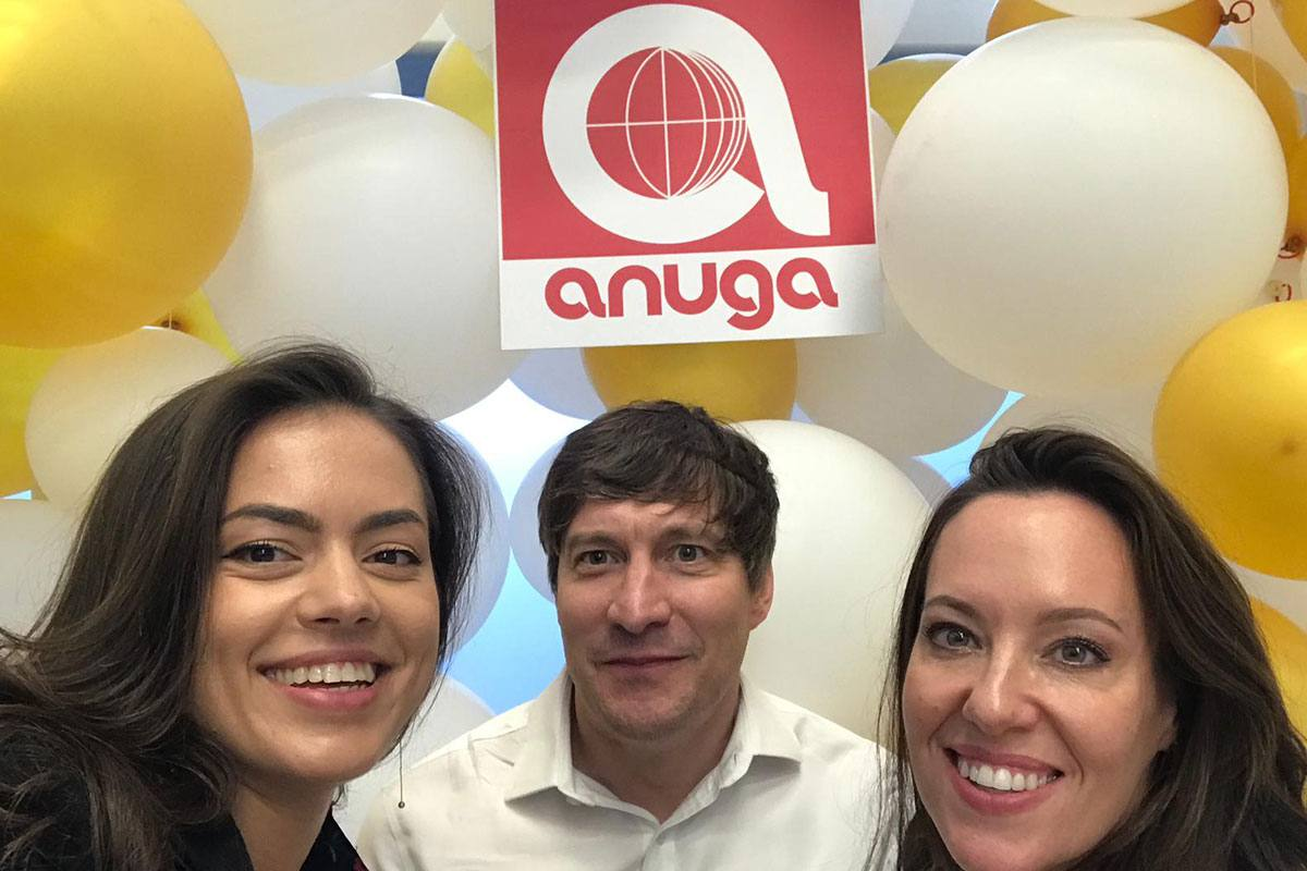 At Anuga 2019 in Cologne…